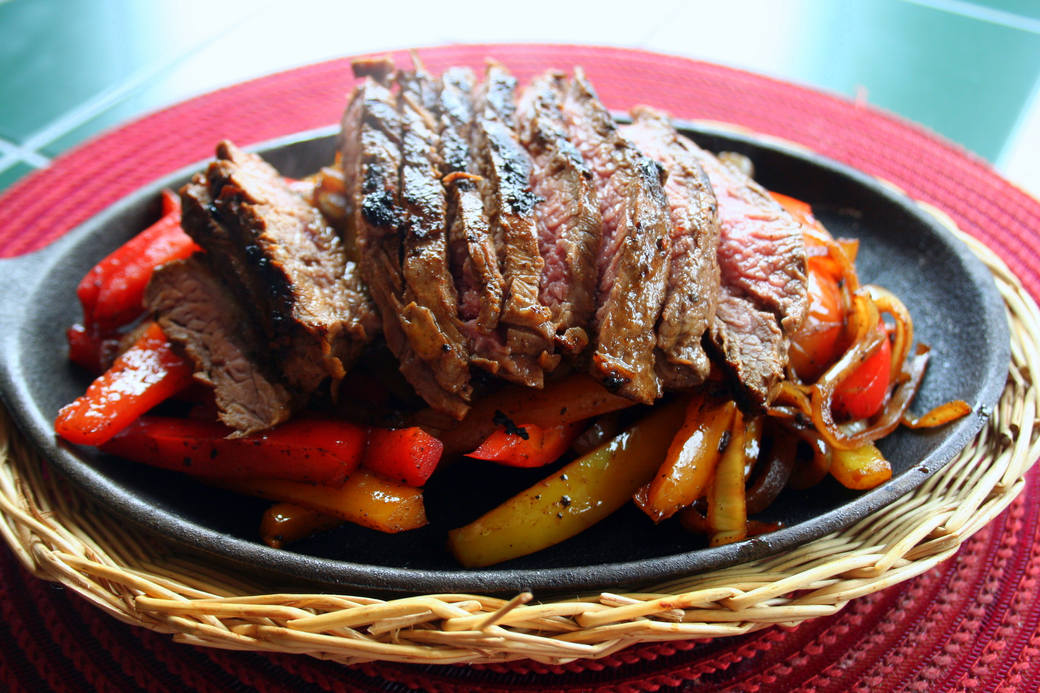 The Best Steak Fajitas – Laura's Kitchen